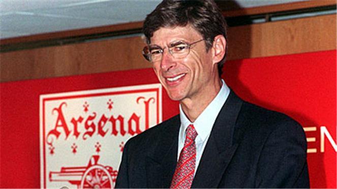 Arsene Wenger unveiled as the Arsenal manager in 1996Arsene Wenger Player