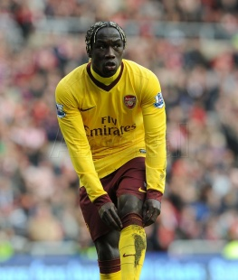 Pulling your socks up Sagna....