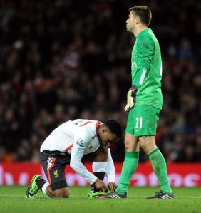 The only help Fabianski needed....