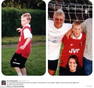 Young Gunner....